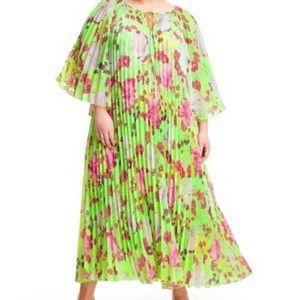 Christopher John Rogers Pleated Dress